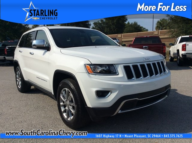 Pre-Owned 2016 Jeep Grand Cherokee Limited RWD 4D Sport Utility