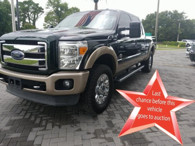 Pre-Owned 2014 Ford F-250SD King Ranch 4WD