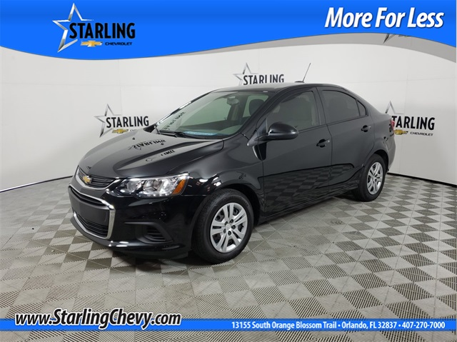 Certified Pre-Owned 2019 Chevrolet Sonic LS FWD 4D Sedan