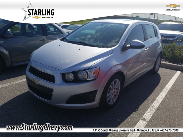 Pre-Owned 2016 Chevrolet Sonic LT FWD 4D Hatchback