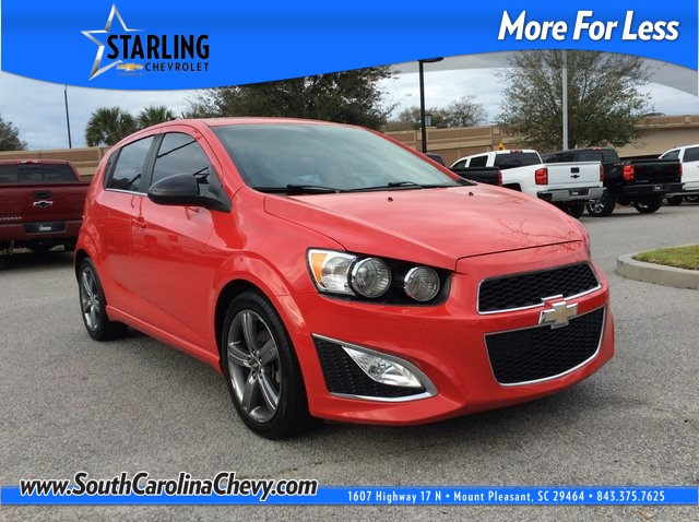 Pre-Owned 2015 Chevrolet Sonic RS FWD 4D Hatchback
