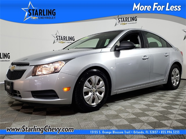Lovely Pre Owned 2012 Chevrolet Cruze LS FWD 4D Sedan