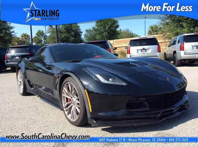 Pre-Owned 2016 Chevrolet Corvette Z06 RWD 2D Coupe