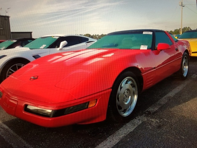 Pre-Owned 1994 Chevrolet Corvette Base RWD 2D Coupe
