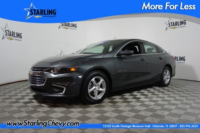 Certified Pre-Owned 2018 Chevrolet Malibu LS FWD 4D Sedan
