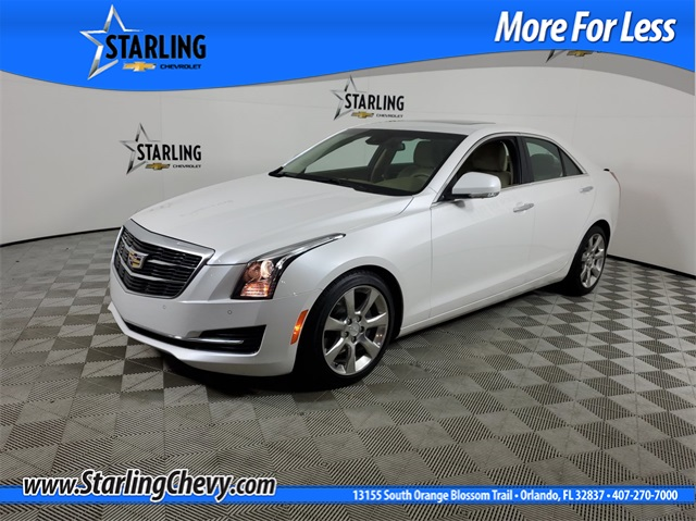 Pre-Owned 2016 Cadillac ATS 3.6L Luxury RWD 4D Sedan
