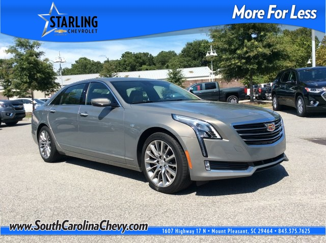 Pre-Owned 2018 Cadillac CT6 3.0L Twin Turbo Premium Luxury AWD