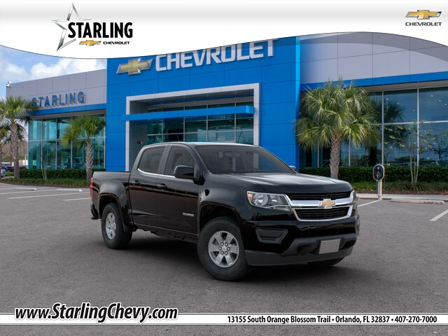 New 2020 Chevrolet Colorado Work Truck RWD 4D Crew Cab