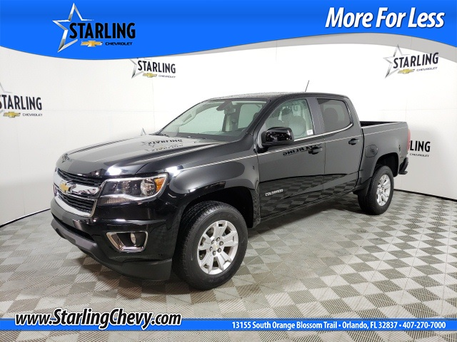 Certified Pre-Owned 2016 Chevrolet Colorado LT RWD 4D Crew Cab