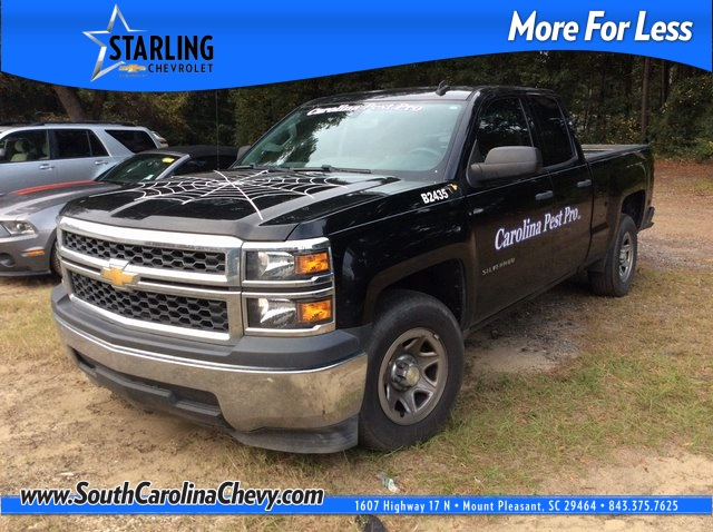 Pre-Owned 2014 Chevrolet Silverado 1500 Work Truck RWD 4D Double Cab