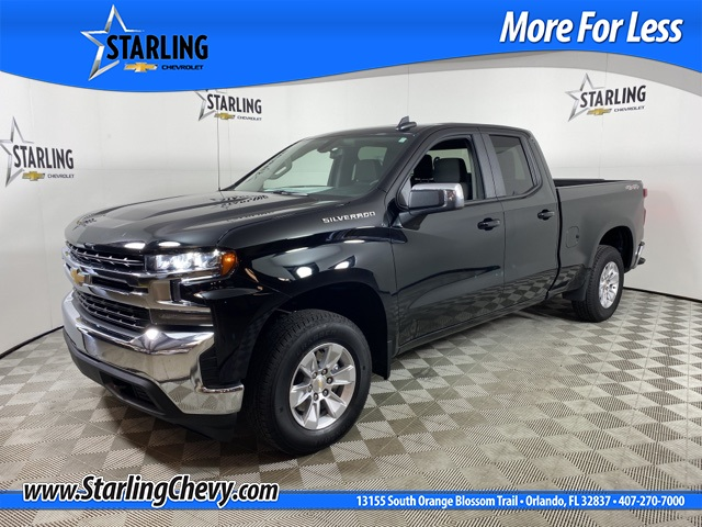 Certified Pre-Owned 2020 Chevrolet Silverado 1500 LT 4WD