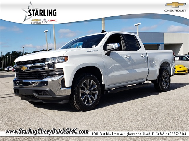 New 2019 Chevrolet Silverado 1500 LT RWD Double Cab