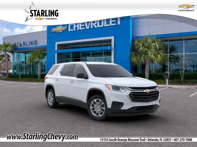 New 2020 Chevrolet Traverse LS FWD 4D Sport Utility