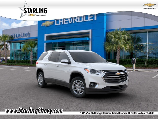 New 2020 Chevrolet Traverse LT Leather FWD 4D Sport Utility