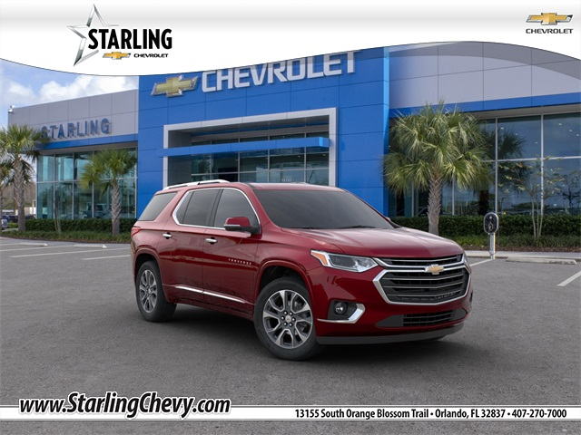 New 2020 Chevrolet Traverse Premier With Navigation