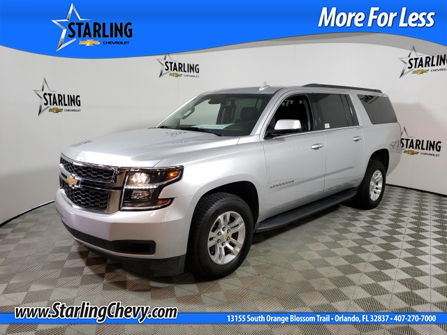 Pre-Owned 2016 Chevrolet Suburban LT RWD 4D Sport Utility