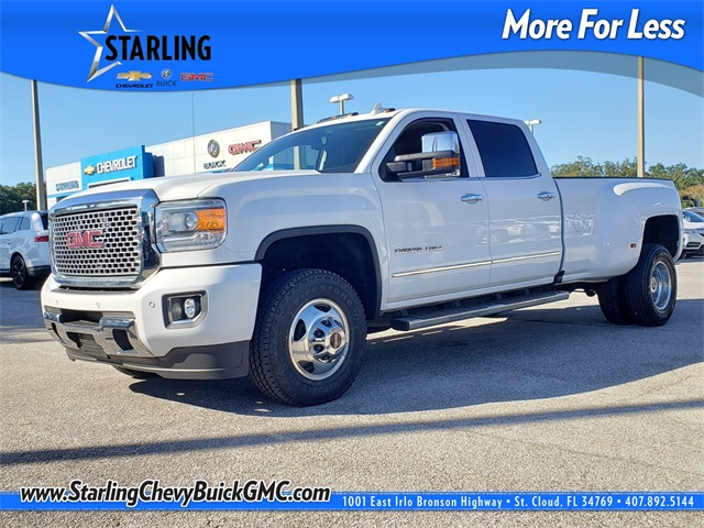 Pre-Owned 2016 GMC Sierra 3500HD Denali With Navigation & 4WD