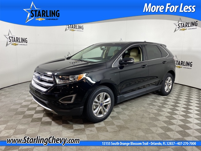 Pre-Owned 2017 Ford Edge SEL FWD 4D Sport Utility