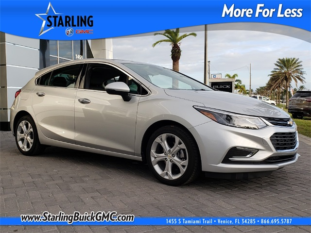 Certified Pre-Owned 2018 Chevrolet Cruze Premier FWD 4D Hatchback