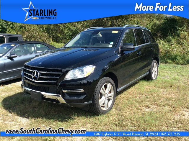Pre Owned 2014 Mercedes Benz M Class ML 350 4MATIC® 4D Sport Utility