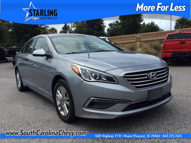 Pre-Owned 2015 Hyundai Sonata SE FWD 4D Sedan