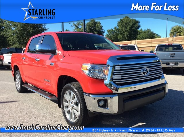 Pre-Owned 2016 Toyota Tundra Limited RWD 4D CrewMax