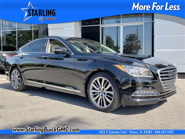 Pre-Owned 2017 Genesis G80 5.0 RWD 4D Sedan