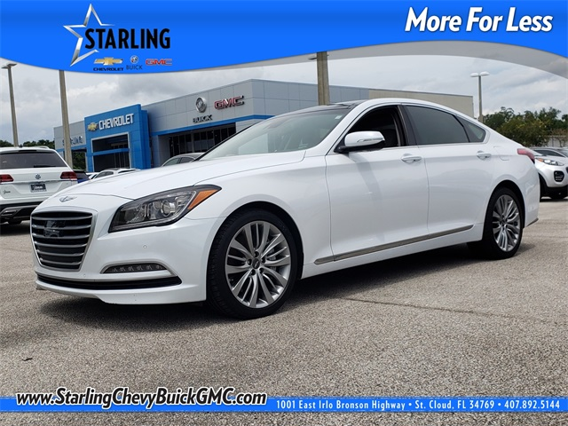 Pre-Owned 2015 Hyundai Genesis 5.0 RWD 4D Sedan