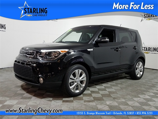 Pre-Owned 2016 Kia Soul Exclaim FWD 4D Hatchback