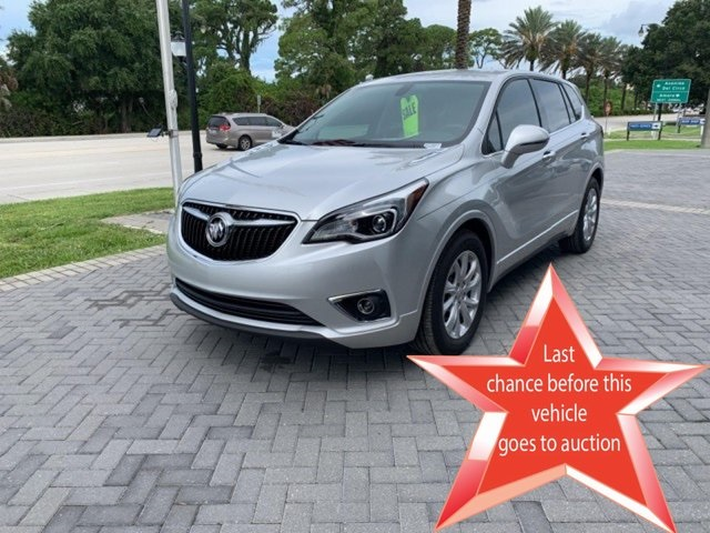 Certified Pre-Owned 2019 Buick Envision Preferred FWD 4D Sport Utility
