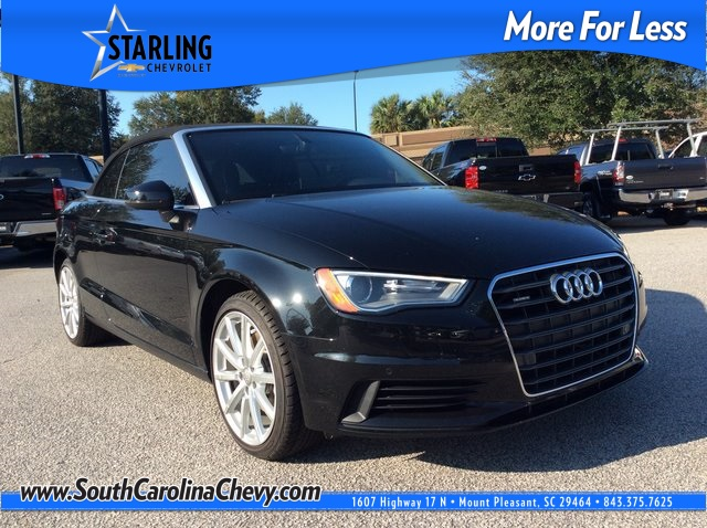 Pre-Owned 2016 Audi A3 2.0T Premium Plus quattro 2D Convertible