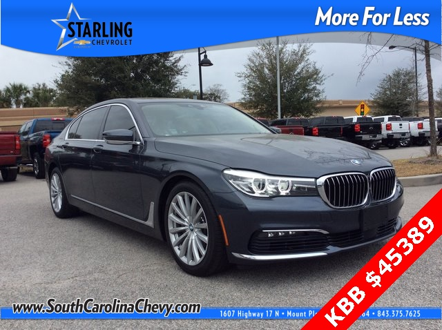 Pre-Owned 2016 BMW 7 Series 740i RWD 4D Sedan