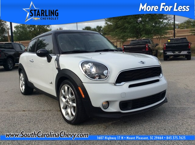 Pre-Owned 2014 MINI Cooper S Paceman AWD